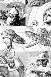 Библия, Иллюстрации к Библии, Иллюстрированная Библия (Юлиус Шнорр фон Карольсфельд / Julius Schnorr von Carolsfeld)
